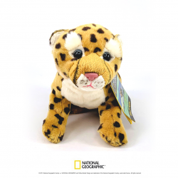 Jucarie din plus National Geographic Pui ghepard mic