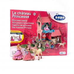 Castel printele cu trei figurine incluse
