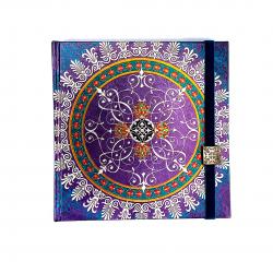 Agenda Mandala inchisa cu elastic