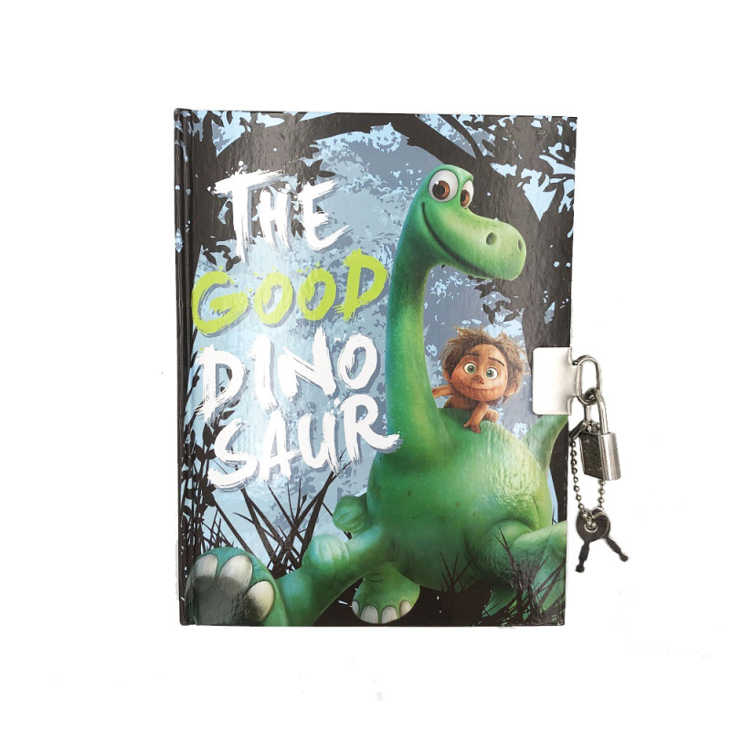 Jurnal copii cu lacatel The Good Dino