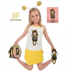 Set cadou Santoro Gorjuss Bee Loved cu camasuta insigna gentuta si felicitare