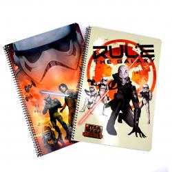 Caiet A4 matematica Star Wars pentru scoala