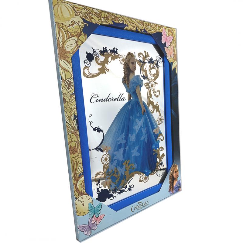 Oglinda decorativa in rama cu Cenusareasa