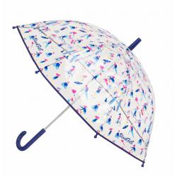 Umbrela transparenta fete BlackFit8 Go girl