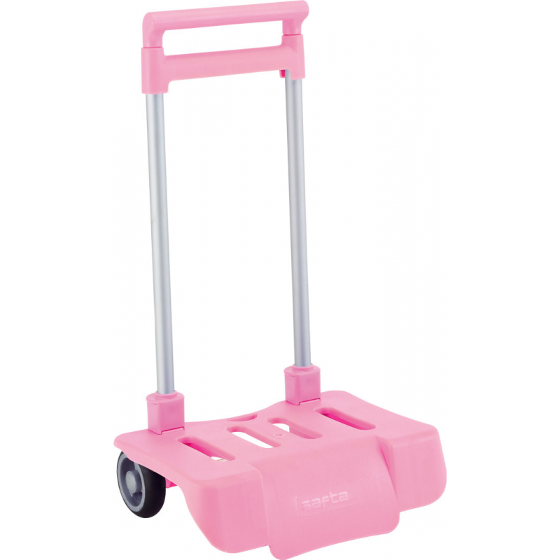 Troler copii mare roz pliabil pt scoala