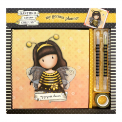 Set cadou jurnal Santoro Gorjuss Bee Loved