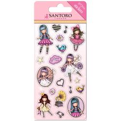 Set stickere Santoro Gorjuss Little Dancer