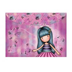 Set doua mape cu butoni Santoro Gorjuss Little Dancer/ Dancing Among The Stars