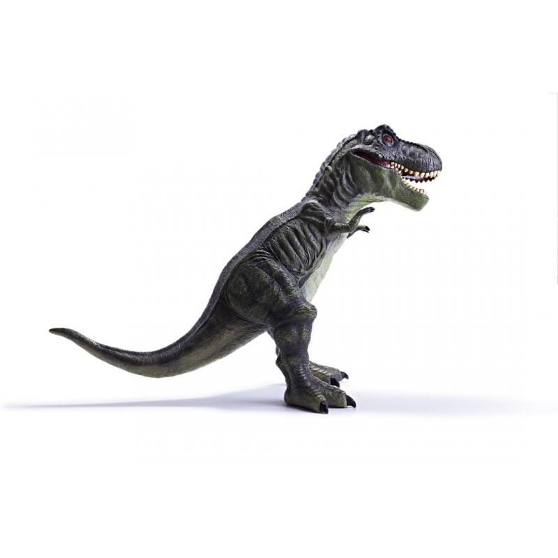 Jucarie dinozaur T-Rex gri