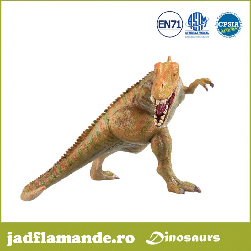 Jurassic Dinozaur Carcharodontosaurus - figurina colectionabila