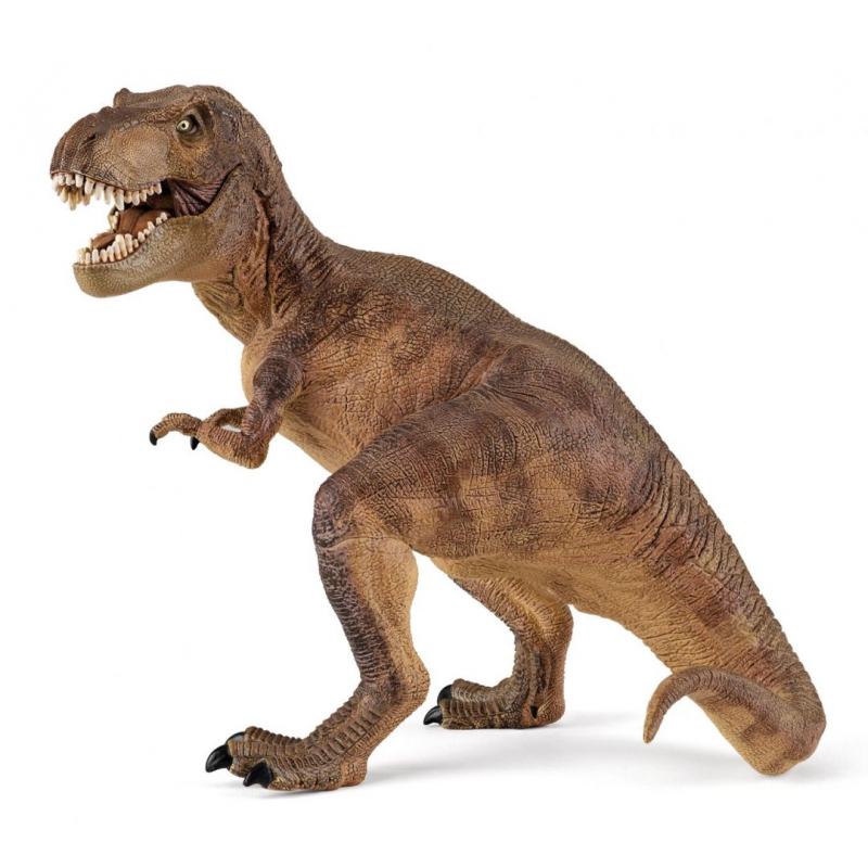 T-rex Papo figurina pictata manual