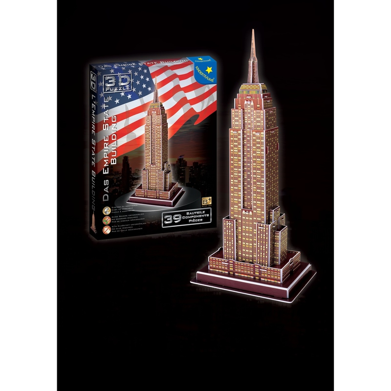 Puzzle 3D 39 piese Empire State Building
