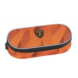 Penar oval cu organizator - Lamborghini orange