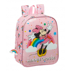Ghiozdan gradi Minnie Mouse Rainbow