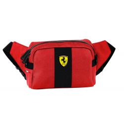 Ferrari - geanta barbateasca de sold rosie