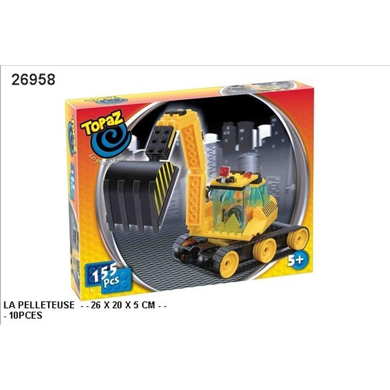 Seturi de construit-Excavator-155 piese