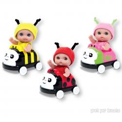 Jucarie Bebelus in masinuta - Lil Cutesies