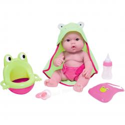 Jucarie bebelus in prosop cu broscuta