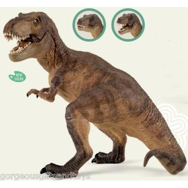Figurina Papo-Dinozaur Tyrannosaurus Rex 22x12x17 cm