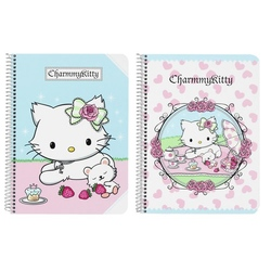 "Caiet cu spira A5-80 de file colectia Charmmy Kitty ""Cakes"""