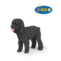 Figurina Papo -Catel Poodle negru