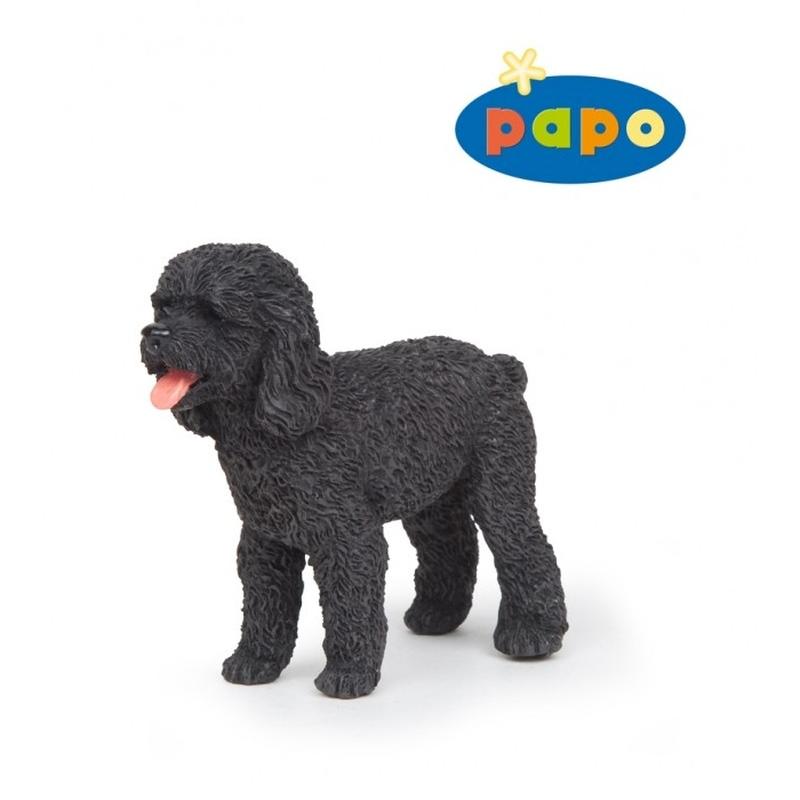 Figurina Papo- Catel Poodle negru