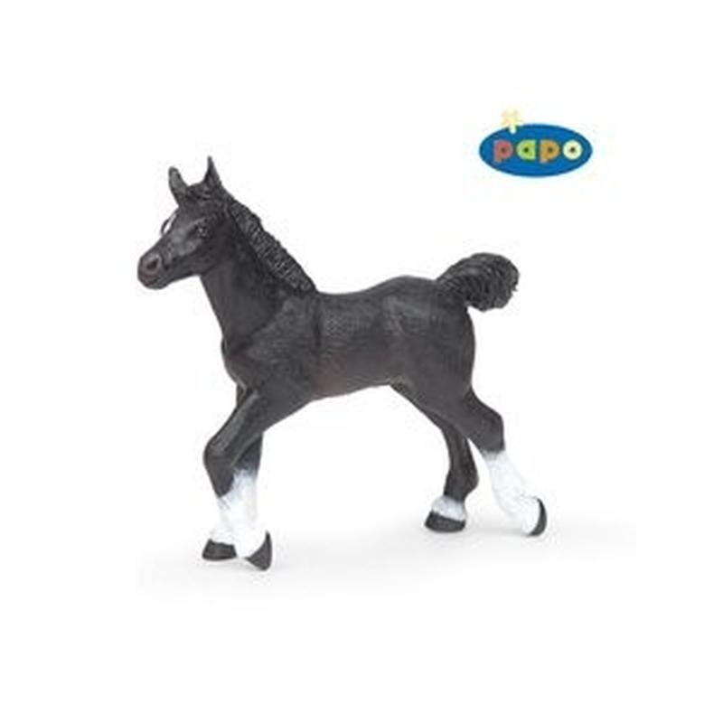 Figurina Papo-Manz anglo-Arab negru