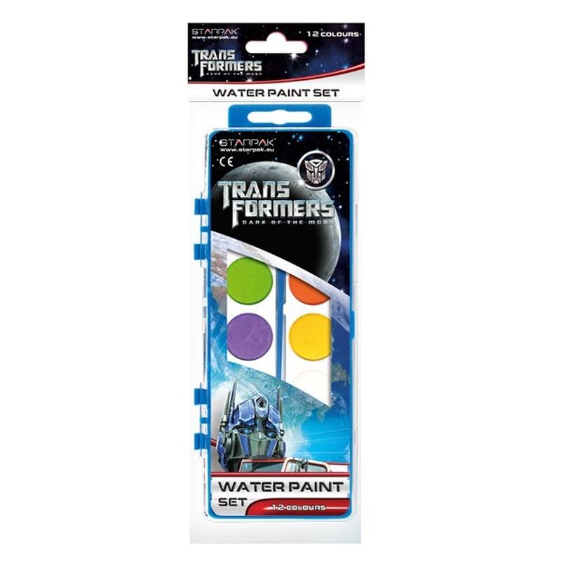 Acuarele 12 culori Transformers