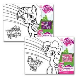 Pictura pe panza pentru copii My Little Pony 22,5X30 cm