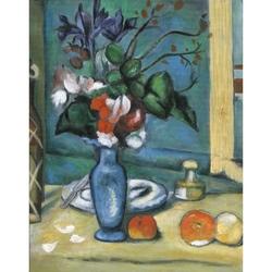 Set pictura pe panza - Vaza albastra