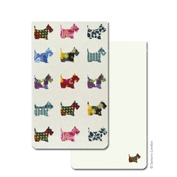Mini agenda Eclectic Scottie Dogs