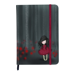 Agenda cu coperti cartonate Gorjuss - Poppy Wood