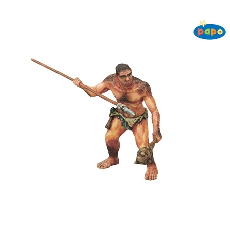 Om preistoric cu lance
