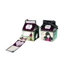 Etichete Gorjuss™ in cutie cu rola de 24 buc