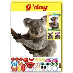 Felicitare amuzanta Little Extra Koala