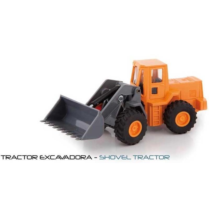 Utilaj de constructie de jucarie,diecast,metalic,1:43, excavator