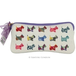 Pouch Eclectic Scottie Dogs
