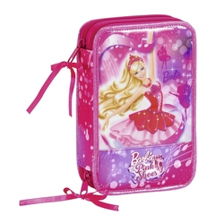 Penar dublu echipat Barbie cu 34 piese