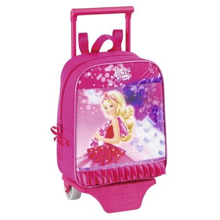 Mini-ghiozdan trolley gradinita colectia Barbie
