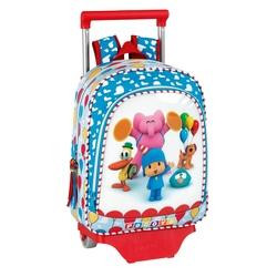 Ghiozdan trolley gradinita colectia Pocoyo Party