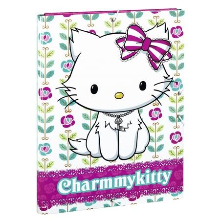 "Mapa cu elastic A4 colectia Charmmy Kitty ""Flowers"" 2"