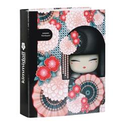 "Biblioraft cu 4 inele colectia ""Kanako"" by Kimmidoll"
