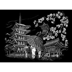 Set gravura Templu Kyoto