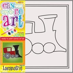 Pictura pe panza pentru copii basculanta