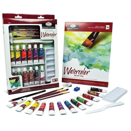 Trusa pictura in acuarela Essentials