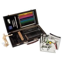 Trusa desen in creion