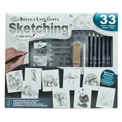 Set creativ educativ - Deseneaza foarte usor animalele