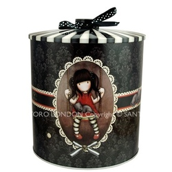 Cutie metalica pentru biscuiti Gorjuss Ruby