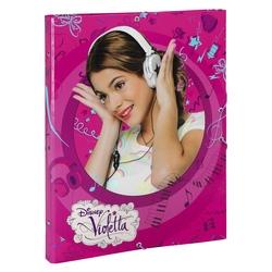 Dosar din carton cu elastic si 12 separatoare Violetta