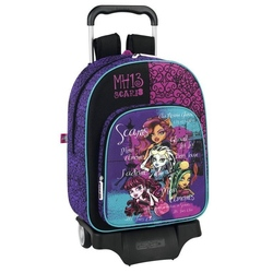 Ghiozdan trolley scoala colectia Monster High Scaris